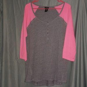Torrid Raglan Shirt